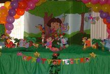 Birthday- Dora Party