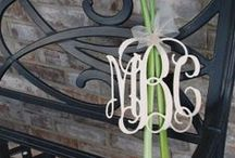 My Love of Monogram / by Stacy Box