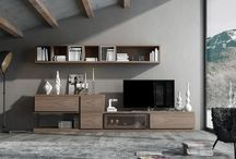 Leaf / Dormitorios y modulares de gran calidad fabricados en roble , nogal y lacas