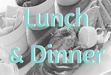 Recipes: Lunch & Dinner / Delicious main dish recipes that include gluten free, vegan, and paleo options.