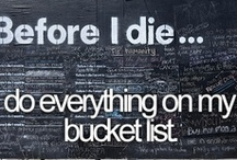 Bucket List / by Colleen Elvey