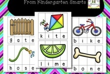 Kindergarten Literacy* / Please feel free to pin anything related to literacy! This is a place where teachers can promote themselves as well as others. Happy pinning!