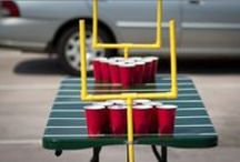 Game Day Inspiration / Everyone knows that the game itself is only a fraction of the fun on game day. Here's how to handle your next tailgate or sports-themed get-together like a pro.