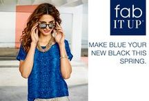 Fab It Up: Blue Is the New Black / by Marshalls