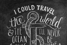 chalk + art / Inspiration for my dining room chalkboard!