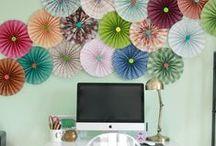 diy | decor / Do-it-yourself decorations for tu casa!