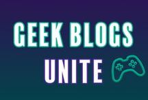 Geek Blogs Unite / This is a collaborative board where bloggers can share their geeky content all in one place. Interested in joining? Go here: https://goo.gl/ITWnzs