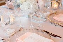 Blush Wedding Ideas / blush wedding ideas. Blush and gold wedding trends for a classic or modern wedding