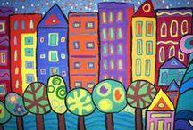 Art Lesson Ideas / by Brystal