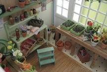Miniature greenhouses