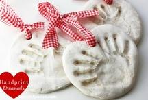 Hand & Foot Print Art / I love little hand and foot prints