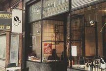 coffe shop interiors / by Cristiana Barbera