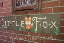 Little Fox Baby Shower / A baby shower for my cousin.  We originally wanted to do a Fox & the Hound theme.