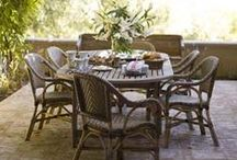 outdoor living / ...inspiration for creating a comfortable designed space outside.