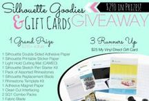 Pin it to Win it / Contests and Giveaways