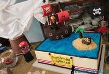 YoHoYoHo it's a Pirate Party for me / Pirate themed birthday party for my 4-year old