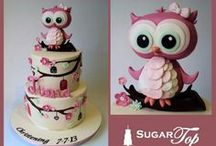 Cakes: Owl
