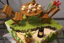 Cakes: Garden, House & Farm