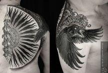 Tattoos I Like / Tattoos, inspiration for tattoos.  / by John Hatton