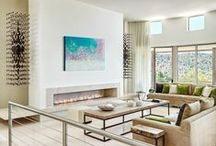 fine fireplaces / ... to add natural light and warmth to a room.