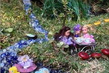 Grand Fairy Gardens / Magical fun with fairy gardens, fairy garden accessories to make, fairy houses, fairy bridges, fairy furniture, fairy garden landscaping, fairies, fairy lakes and fairy waterfalls. http://gleefulgrandiva.com