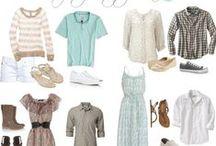 Family Wardrobe / Ideas on family wardrobe for pictures
