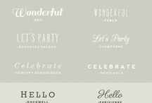 fonts / by Michelle {The Wonder Boys}