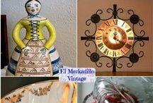 El Merkadillo Vintage - ShopOnline / El lugar donde los objetos vintage adquiren nueva vida... http://www.elmerkadillo.net/ / by Ana Konda