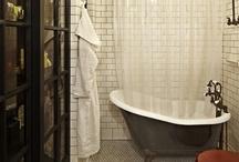 N's ManBath / bathroom / by shalgal