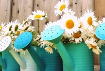 Watering Cans / Watering cans!  / by Belle
