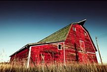 Barns / Love barns / by Steffanie Oxford