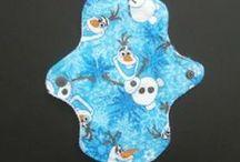 Cloth Pads / http://www.femininewear.co.uk/cloth-pads-1-c.asp / by Feminine Wear