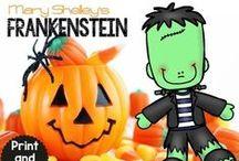 Halloween / Halloween Educational Board