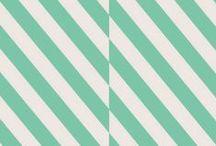 stripes + checks / by Ernie and Irene