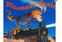 Books: Kids: Dinosaurs / by Pamela Gagne-Southern