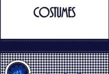 Costumes / Costume patterns and ideas for school productions.