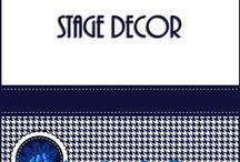 Stage Decor / Stage backdrops and props for musical productions.