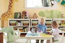 nurseries & playrooms / by Charleen McCready