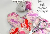 Cloth Pad Tutorials / by Feminine Wear
