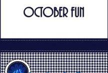 October Lessons / Fun activities for Halloween