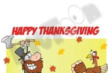 Holiday | Thanksgiving / Thanksgiving Day-Cartoon Clipart & Vectors Illustrations