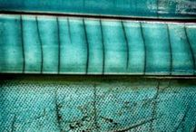 The Colours of Teal and Turquoise and so forth / Not blue, and not green. Turquoise!