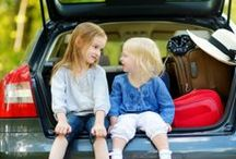 Family Road Trip! / For tips and tricks on how to survive, make the most of, and enjoy traveling with kids be it a road trip, plan, train, or ship ride. Great snacking and activity hacks for the kids (baby, toddler, preschooler, tween, and teen). Have fun and be safe on your next family vacation!