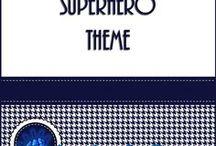 Superhero Theme / Superhero classroom theme.