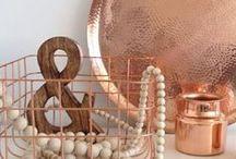 Cobre - Copper / Objetos de Cobre, Decoración, Vintage / by Ana Konda