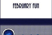 February Fun / Fun Valentine activities