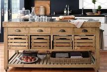 Inspiration:  Kitchen Island to Make / by juliawithag