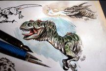 Dinosaur Character Designs