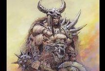Fantasy Art : Barbarian