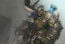 Fantasy Art : Orc